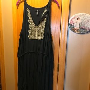 Navy Blue Gap Maxi Dress XXL